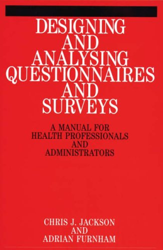 Designing and Analysing Questionnaires and Surveys