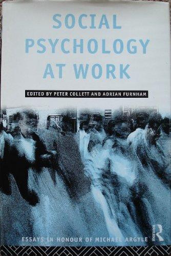 Social Psychology at Work